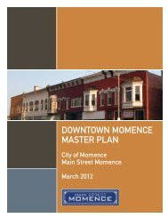 DOWNTOWN MOMENCE MASTER PLAN - The Lakota Group