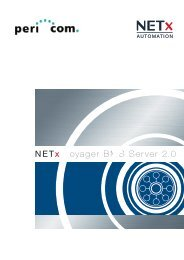 NETx Voyager BMS Server 2.0 - Pericom AG