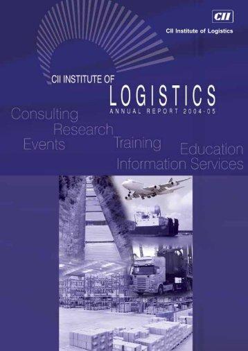 CII Institute of Logistics