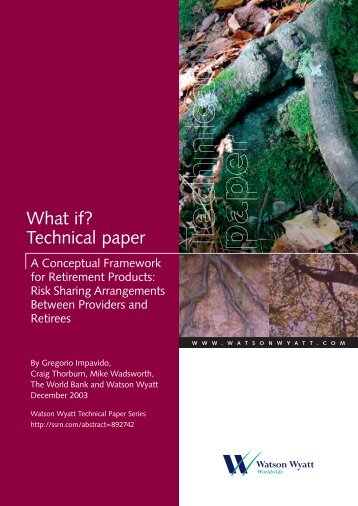 What if? Technical paper