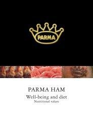 Parma Ham Well-being and diet.pdf - Consorzio del Prosciutto di ...