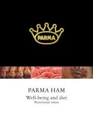 Parma Ham Well-being and diet.pdf - Consorzio del Prosciutto di ...