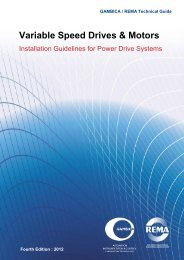 GAMBICA Installation Guidelines for Power Drive ... - Automation.com