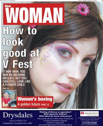 Echo New Woman 130812 - Newsquest