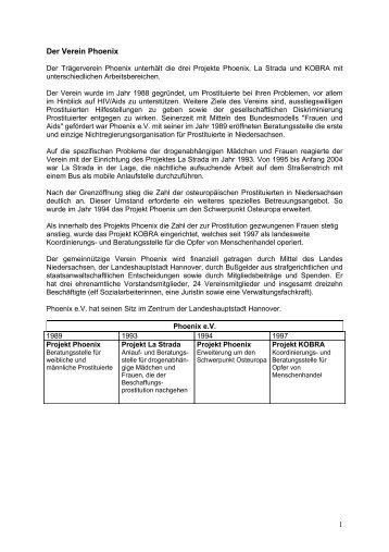 Bereich Medien- und Lobbyarbeit - Phoenix Beratung Hannover