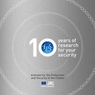 10 years of research for your security - IPSC - Europa