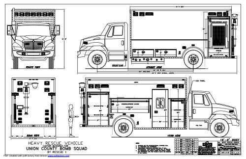 download complete drawings of this truck rescue 1