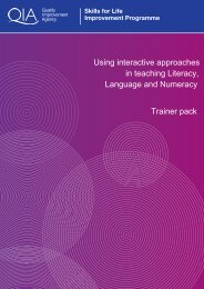 Using interactive approaches in teaching Literacy, Language and ...