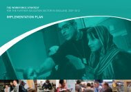 IMPLEMENTATION PLAN - Skills for Life Improvement Programme ...