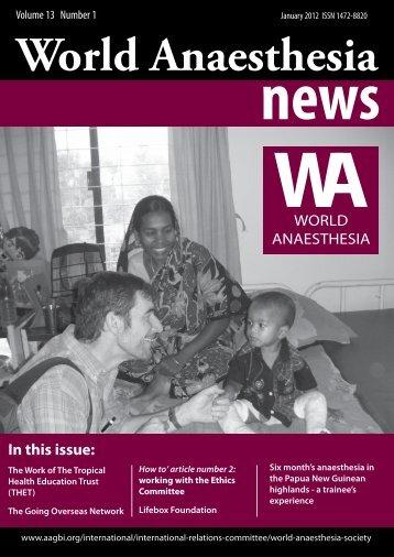 January 2012 Edition - aagbi