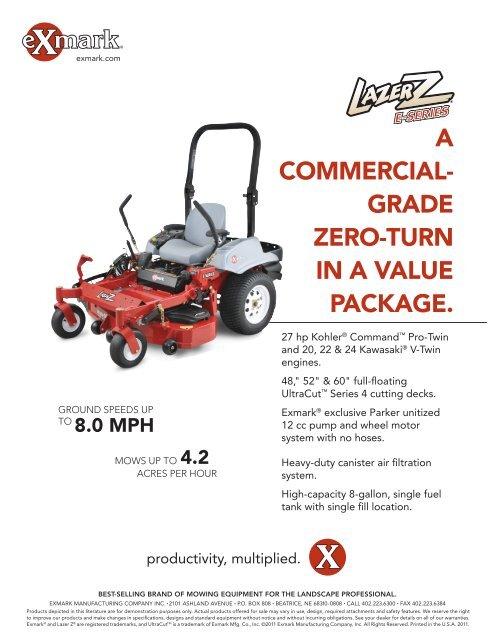 • Lazer Z E-Series - Exmark