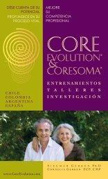 Folleto en Español - Core Evolution® - CoreSoma