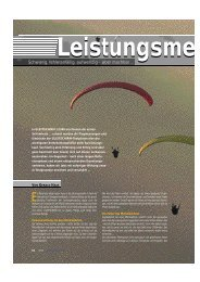 kostenlos im PDF-Format lesen. - Gleitschirm