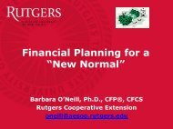 """Financial Planning for a """"New Normal"""""""