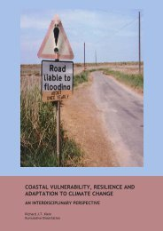 Coastal vulnerability, resilience and adaptation to ... - OceanDocs