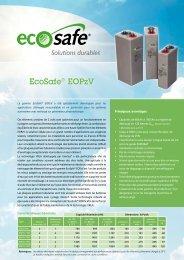 Ecosafe® Eopzv - Enersys - EMEA