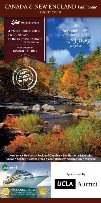 Download Brochure - Alumni Travel - UCLA