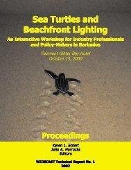 Sea Turtles and Beachfront Lighting - WIDECAST