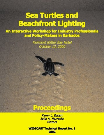Sea Turtles and Beachfront Lighting - WIDECAST