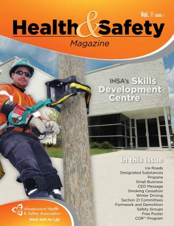 Health and Safety Magazine, Vol. 11, Issue 4 - Infrastructure Health ...