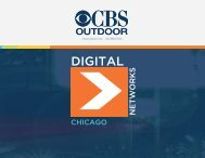 Chicago Digital Media Kit - CBS Outdoor