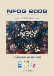NFOG 2008 - The Nordic Federation of Societies of Obstetrics and ...
