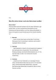 Bad Reichenhaller / Salzfakten - Alte Saline