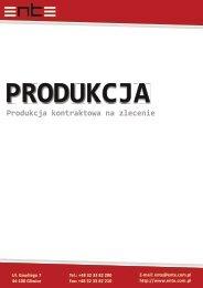 Produkcja kontraktowa na zlecenie - Ente