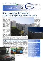 Anno 3, n. 1 - gennaio 2010 - Ospedale San Carlo Borromeo