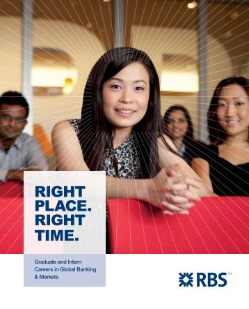 RBS Brochure - Career Planning and Development Centre