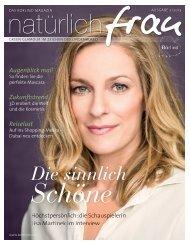 Ausgabe 02/2013 Die sinnlich Schöne - Annemarie Börlind