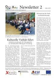 Newsletter 2 - Rhein-Ruhr-Institut für Sozialforschung und ...