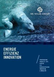 SiG Solar Group Katalog DE