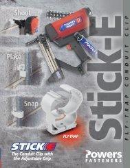 fly-trap conduit clip - Powers Hellas