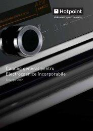 Catalog general pentru Electrocasnice încorporabile - Hotpoint