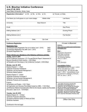 Information & Registration form (pdf file) - Iowa Bankers Mortgage ...