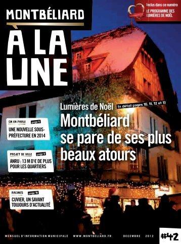 Décembre 2012 - Montbéliard