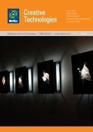 Creative Technologies - Wellington Institute of Technology