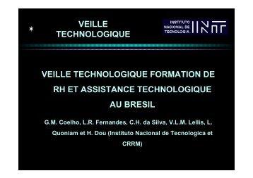 veille technologique veille technologique formation de rh et ... - CRRM