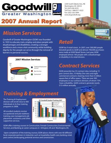 2007 Annual Report(final)web.pdf - Goodwill of Greater Washington