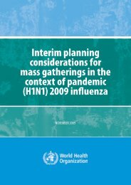 Interim planning considerations for mass gatherings in the context of ...
