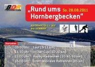 """""""Rund ums Hornbergbecken"""" So. 28.08.2011"""
