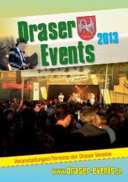 Draser Events 2013.indd