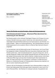 """Umweltstaatssekretärin Kraege: """"Rheinland-Pfalz übernimmt Ver ..."""
