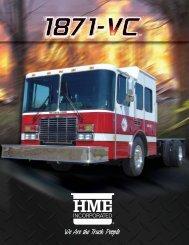 HME 1871-vc Custom cab & chassis - R & R Fire Truck Repair, Inc.