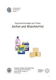 Experimente zum Thema Seifen und Waschmittel - Herzlich ...