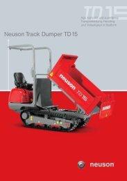 Neuson Track Dumper TD15-H