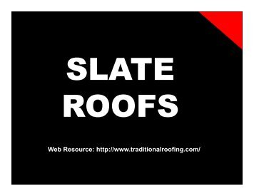Roofing System - Part #2 - Allsafe Home Inspection Service, Inc.