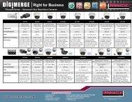 Pinnacle Series - Advanced Ultra Resolution Cameras ... - Digimerge