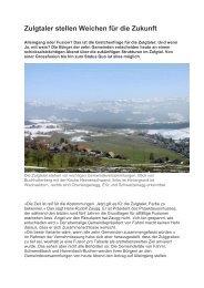 und hier der Link zum Artikel des Thuner Tagblatts vom 11.03.2011 ...